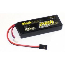 BlackMagic LiFe RX Rak 1600mAh 2S 6,6V
