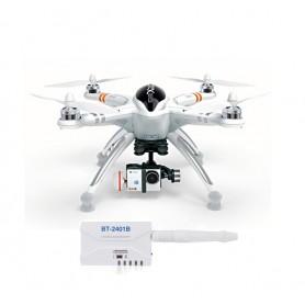 Walkera QR X350 Pro -RTF9 / GroundStation / FishEye kamera / Gimbal