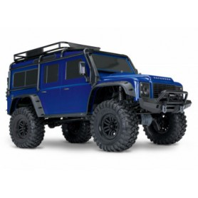 TRX-4 Scale & Trail Crawler Land Rover Defender Blå RTR