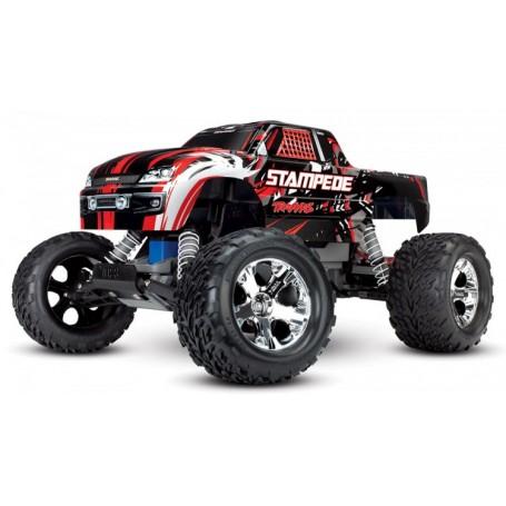 Stampede 2WD 1/10 RTR TQ Röd-X med batteri/laddare