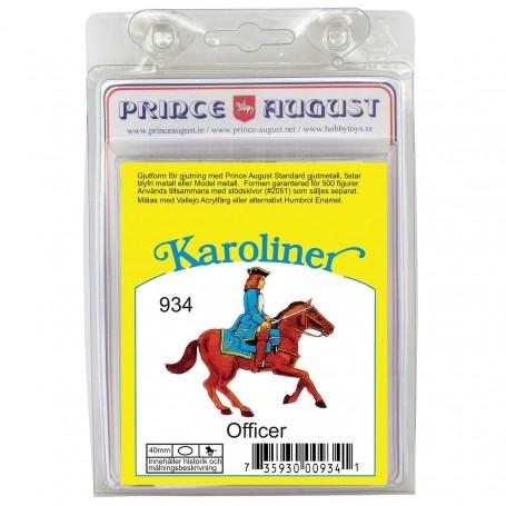 Karoliner Officer 40mm Scale Mould
