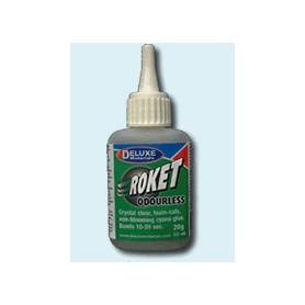 ROKET ODURLESS, cyanoacrylat lim, luktfritt